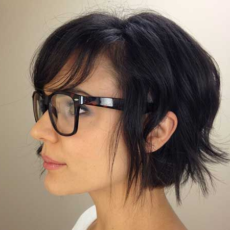 21 Breathtaking Short Bob Haircuts | Hair And Makeup Obsessions For Most Recently Uneven Layered Bob Hairstyles For Thick Hair (View 13 of 25)
