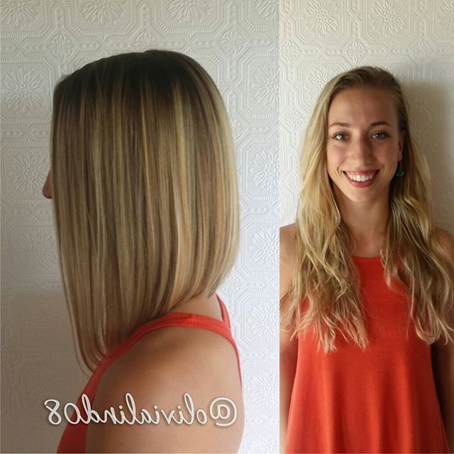 21 Eye Catching A Line Bob Hairstyles | Styles Weekly Throughout Most Current Collarbone Bob Haircuts (View 4 of 25)
