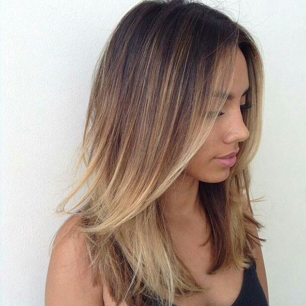 21 Great Layered Hairstyles For Straight Hair 2019 – Pretty Designs For Best And Newest Straight, Sleek, And Layered Hairstyles For Medium Hair (View 10 of 25)