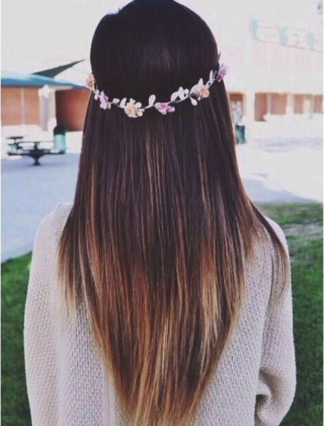 21 Great Layered Hairstyles For Straight Hair 2019 – Pretty Designs For Most Up To Date Shoulder Length Haircuts With Long V Layers (View 19 of 25)