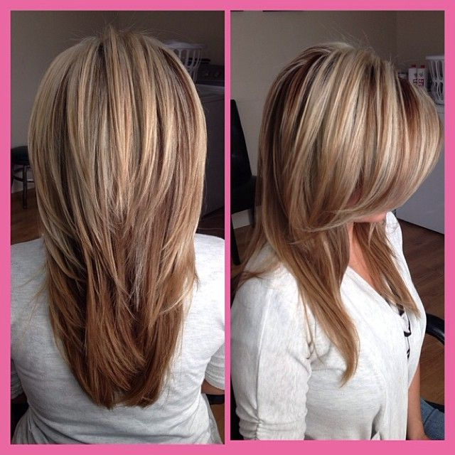 21 Great Layered Hairstyles For Straight Hair 2019 – Pretty Designs Inside Most Recent Shoulder Length Haircuts With Long V Layers (View 13 of 25)