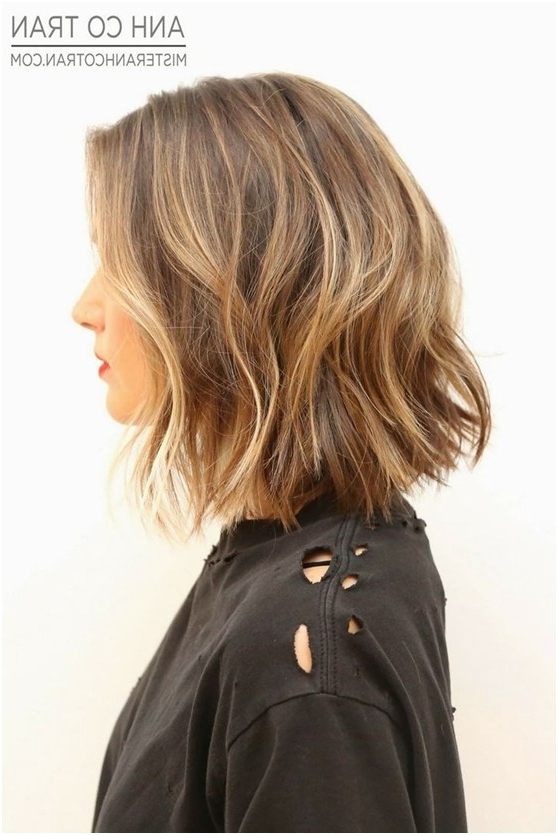 21 Textured Choppy Bob Hairstyles: Short, Shoulder Length Hair Inside Most Popular Choppy Waves Hairstyles (View 14 of 25)