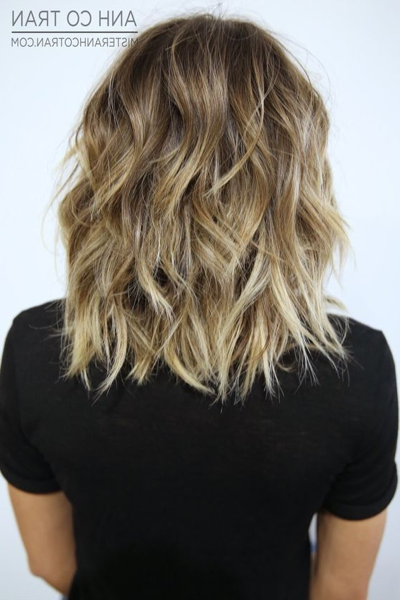 22 Best Hairstyles For Thick Hair – Sleek, Frizz Free & Contemporary Inside Best And Newest Medium Layered Wavy Haircuts (View 15 of 25)