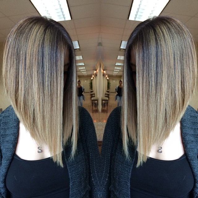 22 Cute Inverted Bob Hairstyles – Popular Haircuts In Recent Long Angled Bob Hairstyles With Chopped Layers (View 25 of 25)