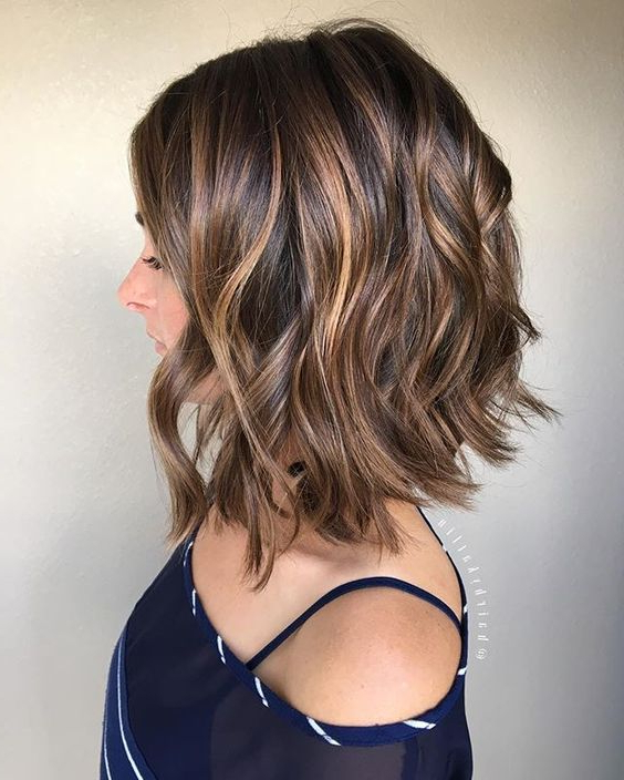 22 Fabulous Bob Haircuts & Hairstyles For Thick Hair – Hairstyles Weekly Regarding Most Recently Two Tier Lob Hairstyles For Thick Hair (View 7 of 25)