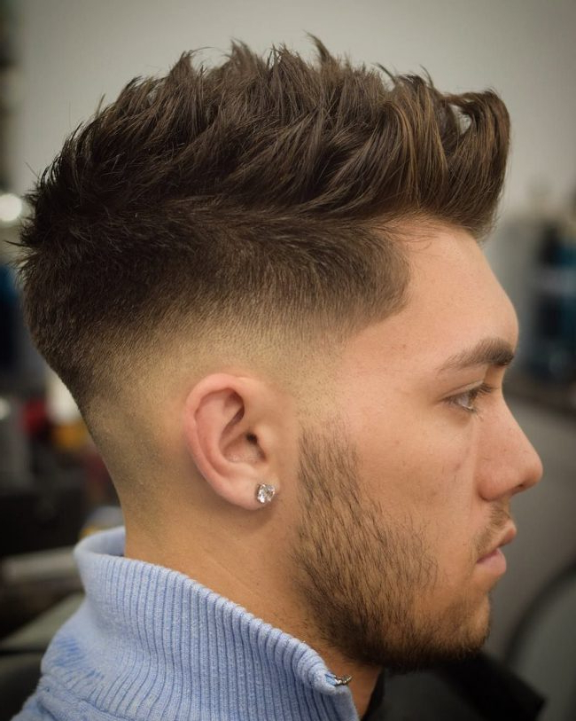 22 Rugged Faux Hawk Hairstyle You Should Try Right Away! Inside Lobster Tail Faux Hawk Hairstyles (View 8 of 25)