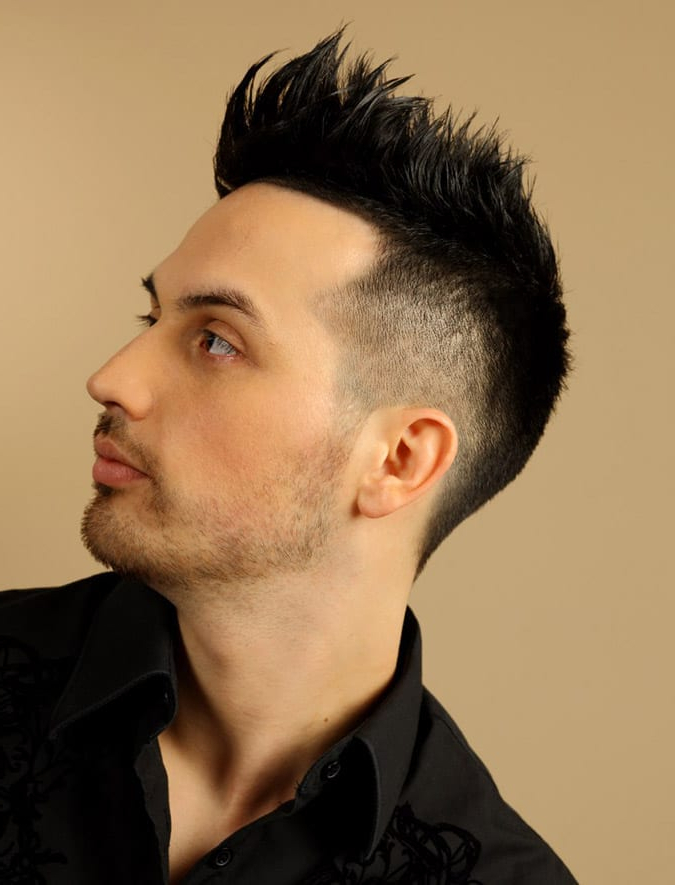 22 Rugged Faux Hawk Hairstyle You Should Try Right Away! Intended For Lobster Tail Faux Hawk Hairstyles (View 9 of 25)