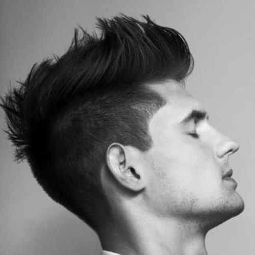22 Rugged Faux Hawk Hairstyle You Should Try Right Away! Within Lobster Tail Faux Hawk Hairstyles (View 11 of 25)