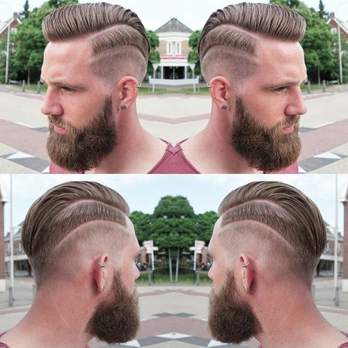 22 Rugged Faux Hawk Hairstyle You Should Try Right Away! Within Tattoo You Tonight Faux Hawk Hairstyles (View 16 of 25)