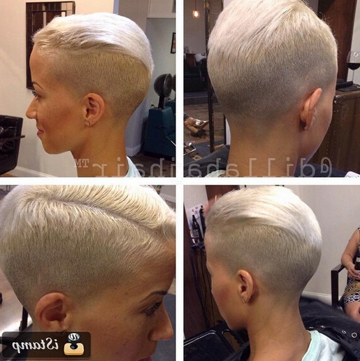 22 Trendy Short Haircut Ideas For 2019: Straight, Curly Hair Throughout Asymmetrical Pixie Faux Hawk Hairstyles (View 25 of 25)
