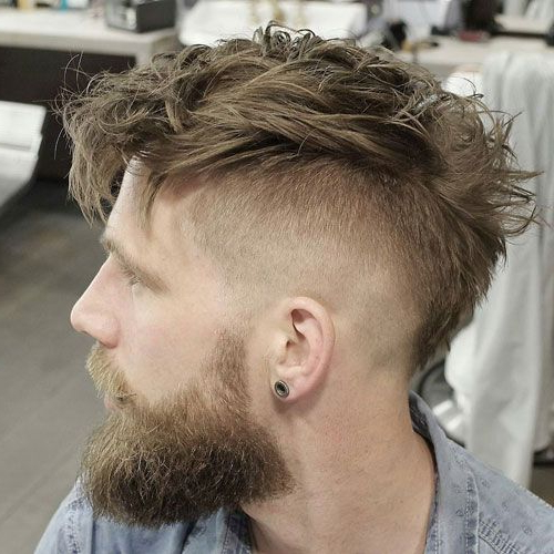 23 Edgy Men's Haircuts | Best Hairstyles For Men | Pinterest | Hair Throughout The Faux Hawk Mohawk Hairstyles (View 15 of 25)