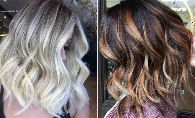 23 Stylish Lob Hairstyles For Fall And Winter | Stayglam Regarding Latest Feathered Brunette Lob Haircuts (View 15 of 25)
