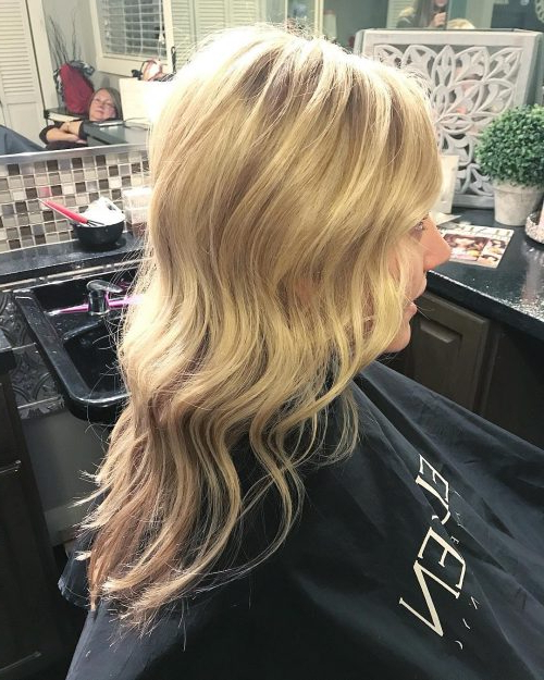 24 Long Wavy Hair Ideas That Are Freaking Hot In 2019 For Latest Salty Beach Blonde Layers Hairstyles (View 22 of 25)