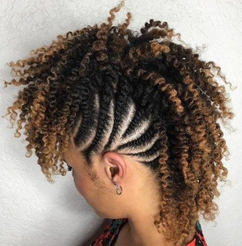 24 Mohawk Updo Styles Women   Natural Hairstyles Intended For Cool Mohawk Updo Hairstyles (View 17 of 25)