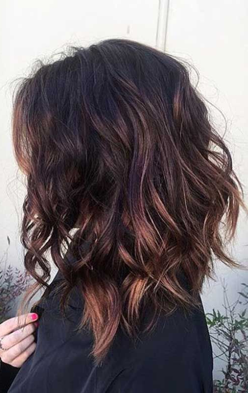 25 Amazing Lob Hairstyles That Will Look Great On Everyone | Hair Within Best And Newest Caramel Lob Hairstyles With Delicate Layers (View 8 of 25)