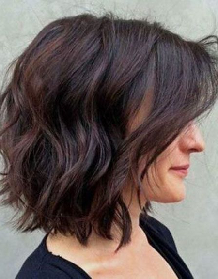 25 Best Bob Hairstyles For Women 2017 | Hair Cuts | Pinterest Inside Most Popular Brunette Messy Shag Hairstyles (View 6 of 25)