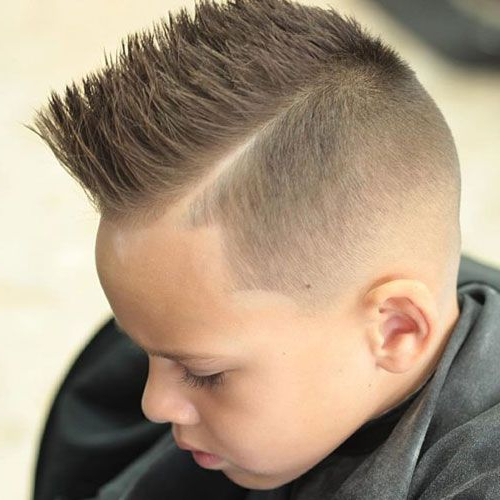 25 Cool Boys Haircuts 2019 | Bodacious Hair | Pinterest | Boy Pertaining To Spikey Mohawk Hairstyles (View 3 of 25)