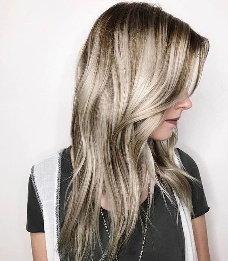 25 Exciting Medium Length Layered Haircuts – Popular Haircuts Intended For 2018 Shoulder Length Haircuts With Long V Layers (View 25 of 25)