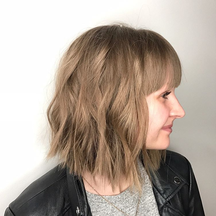25 Exciting Medium Length Layered Haircuts – Popular Haircuts With Recent Shoulder Length Layered Hairstyles (View 16 of 25)