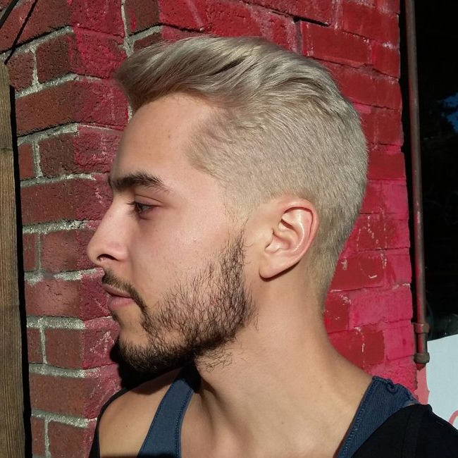 25 Ideas For Men's Bleached Hair – The Bolder The Better Regarding Bleached Mohawk Hairstyles (View 21 of 25)
