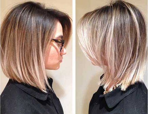 25 Medium Length Bob Haircuts | Bob Hairstyles 2018 – Short Intended For Latest Collarbone Bob Haircuts (View 9 of 25)