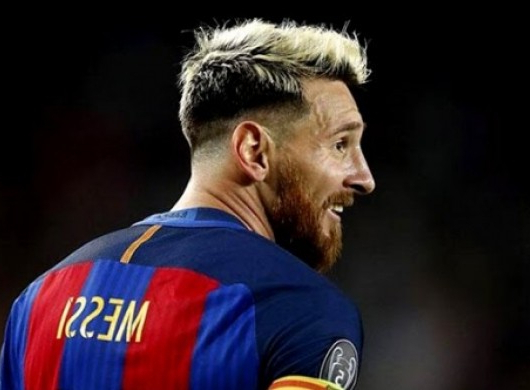 25 Most Popular Lionel Messi Haircuts Copiedhis Fans Pertaining To Platinum Fauxhawk Haircuts (View 21 of 25)