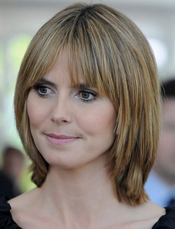 25 Most Superlative Medium Length Layered Hairstyles – Haircuts Regarding Best And Newest Straight, Sleek, And Layered Hairstyles For Medium Hair (View 18 of 25)