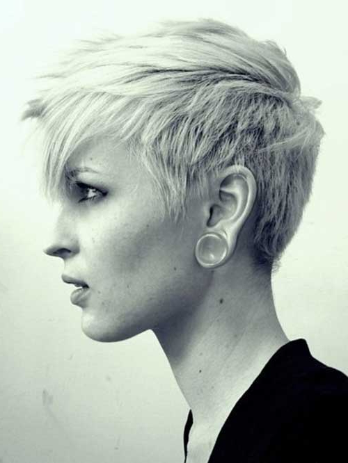 25 Popular Layered Short Haircuts – Love This Hair With Asymmetrical Pixie Faux Hawk Hairstyles (View 16 of 25)