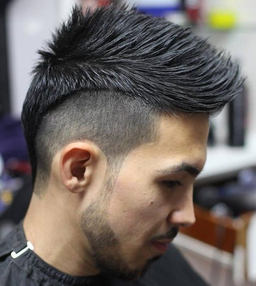 25 Smartest Spiky Hairstyles For Guys [2019] – Cool Men's Hair In Spikey Mohawk Hairstyles (View 19 of 25)