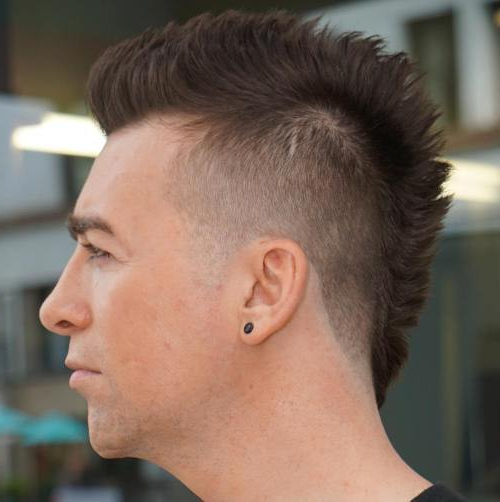 25 Smartest Spiky Hairstyles For Guys [2019] – Cool Men's Hair Regarding Spikey Mohawk Hairstyles (View 5 of 25)