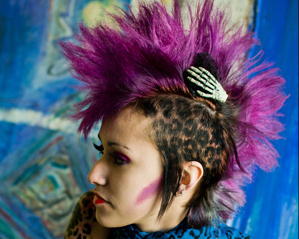 25 Striking Funky Hairstyles – Slodive Throughout Funky Pink Mohawk Hairstyles (View 24 of 25)