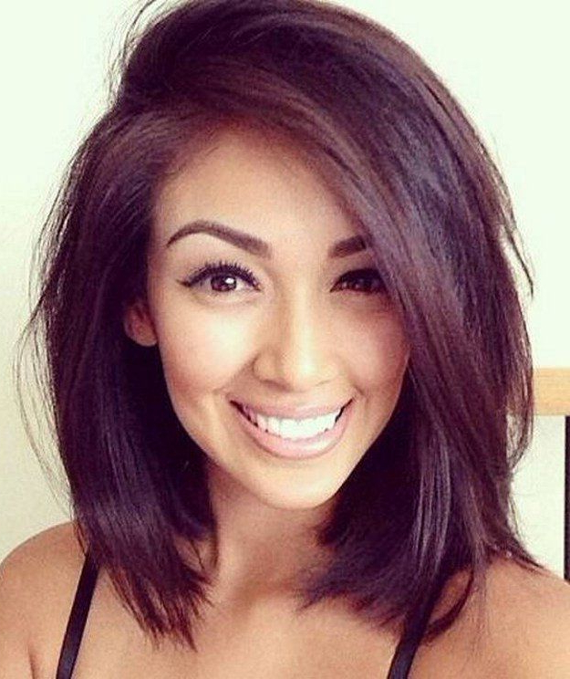 25 Super Cute Medium Haircuts   Hair Do's   Pinterest   Hair Styles Throughout Latest Voluminous Wavy Layered Hairstyles With Bangs (View 17 of 25)
