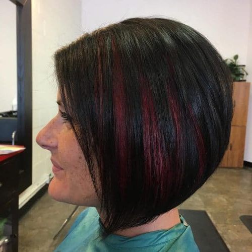 26 Angled Bob Hairstyles Trending Right Right Now For 2019 With Most Up To Date Medium Angled Purple Bob Hairstyles (View 8 of 25)