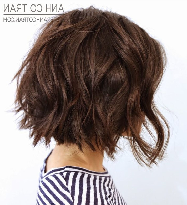 26 Best Short Bob Hairstyles For Women All The Time | For Current Layered Tousled Bob Hairstyles (View 10 of 25)