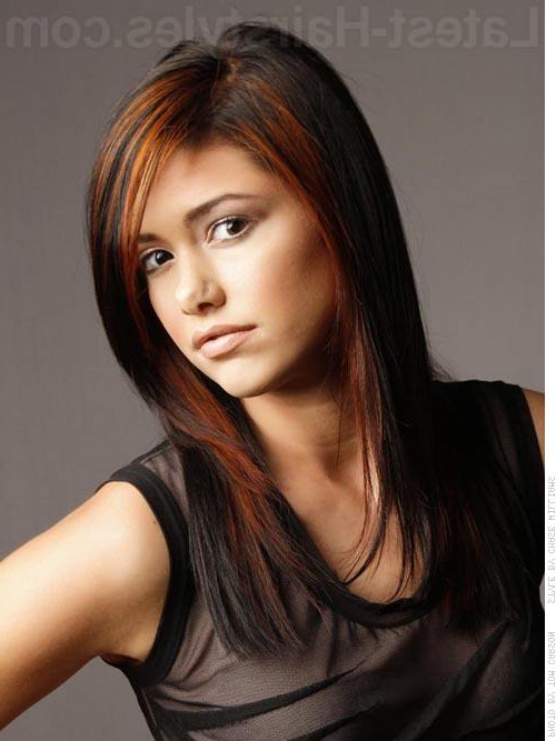 26 Most Flattering Haircuts For Oval Faces In 2019 Regarding Most Up To Date Elongated Layered Haircuts For Straight Hair (View 6 of 25)