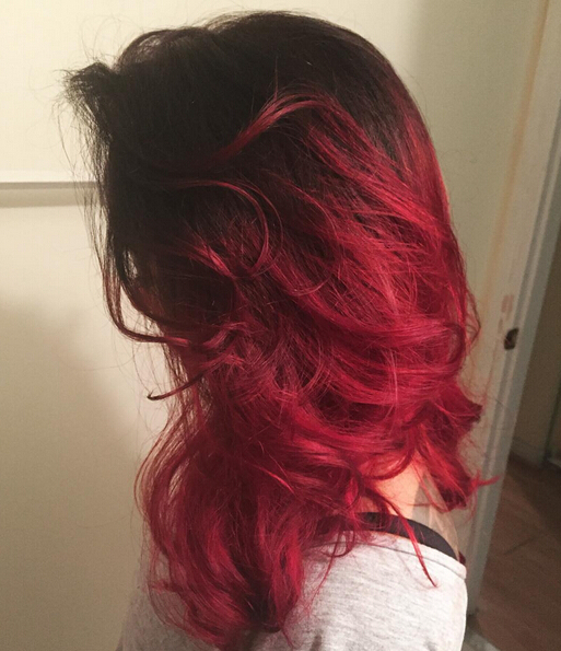 26 Stunning New Red Hair Colour Ideas – Popular Haircuts Throughout Most Recent Medium Haircuts With Fiery Ombre Layers (View 11 of 25)