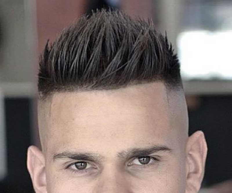26 Trendy Faux Hawk Hairstyle Ideas For Men | Hairstyles And Facial Throughout Amber Waves Of Faux Hawk Hairstyles (View 5 of 25)