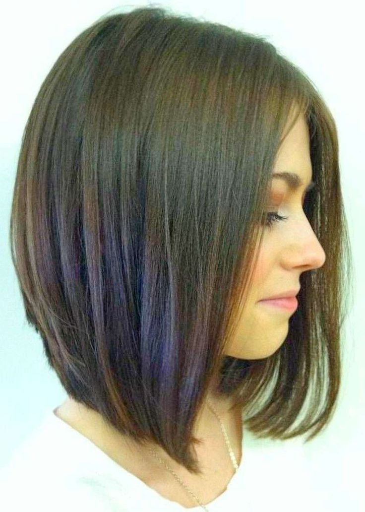 27 Beautiful Long Bob Hairstyles: Shoulder Length Hair Cuts Regarding Recent Collarbone Bob Haircuts (View 6 of 25)