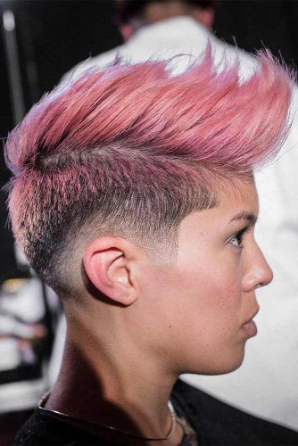 27 Super Cool Looks With A Taper Fade | Hair | Pinterest | Hair Cuts For Voluminous Tapered Hawk Hairstyles (View 5 of 25)