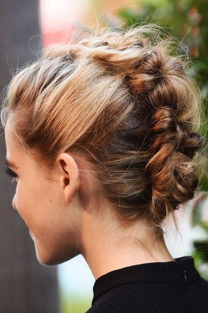 28 Trendy Faux Hawk Hairstyles For Women 2019 – Pretty Designs Pertaining To Messy Braided Faux Hawk Hairstyles (View 22 of 25)