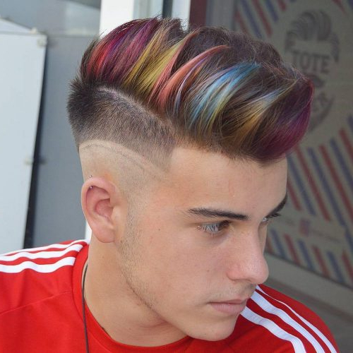 29 Coolest Men's Hair Color Ideas In 2019 Regarding Steel Colored Mohawk Hairstyles (View 18 of 25)