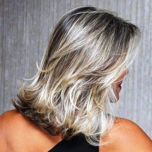 29 Sassy Medium Layered Haircuts To Look Elegantly Outstanding Throughout Most Popular Shoulder Length Haircuts With Flicked Ends (View 7 of 25)