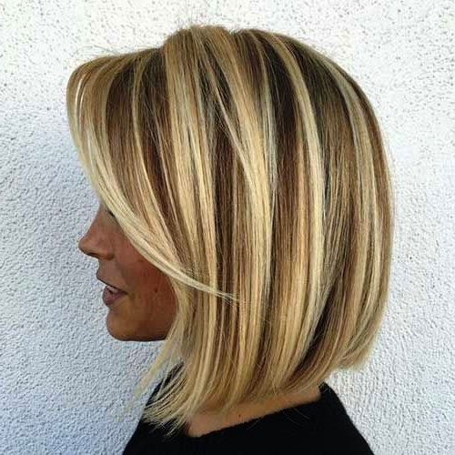 29 Sassy Medium Layered Haircuts To Look Elegantly Outstanding With Most Recently Point Cut Bob Hairstyles With Caramel Balayage (View 4 of 25)