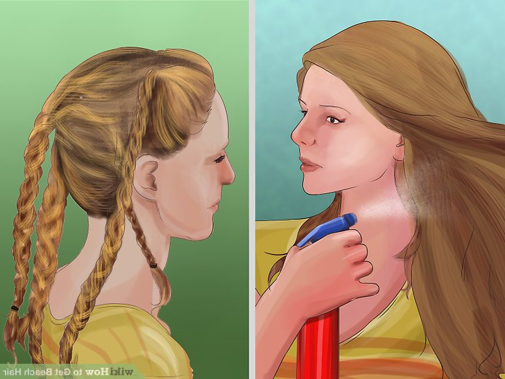 3 Ways To Get Beach Hair – Wikihow Inside Most Up To Date Salty Beach Blonde Layers Hairstyles (View 18 of 25)