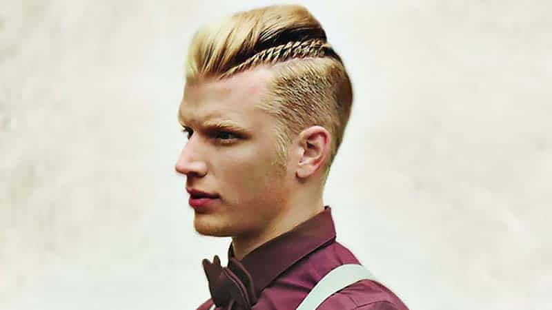 30 Awesome Mohawk Hairstyles For Men – The Trend Spotter Within Small Braids Mohawk Hairstyles (View 24 of 25)