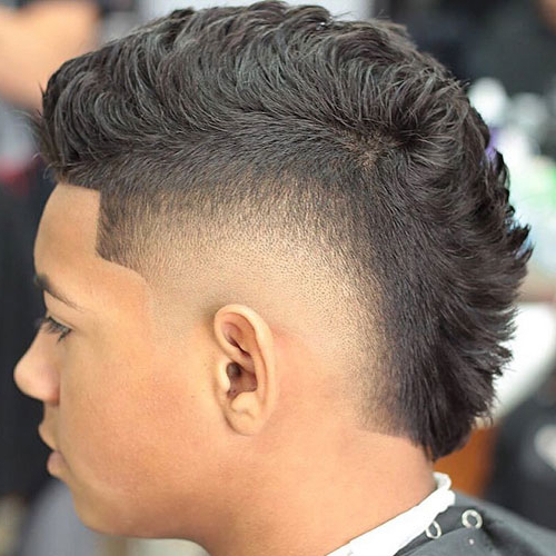 30 Best Faux Hawk (Fohawk) Haircuts For Men [2019 Guide] With The Faux Hawk Mohawk Hairstyles (View 12 of 25)