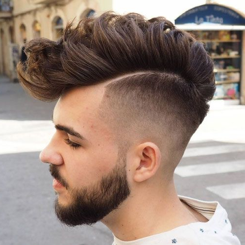 30 Best Haircuts For Men 2018 | Fade Haircuts | Hair Styles, Hair With Amber Waves Of Faux Hawk Hairstyles (View 6 of 25)