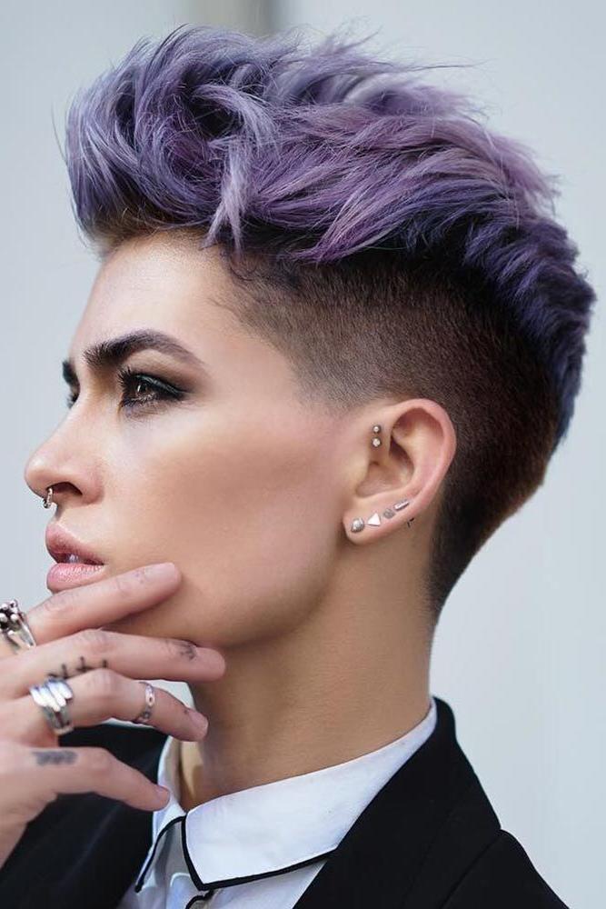 30 Best Short Haircuts For Women | Hair | Short Hair Styles, Hair In Purple Rain Lady Mohawk Hairstyles (View 5 of 25)