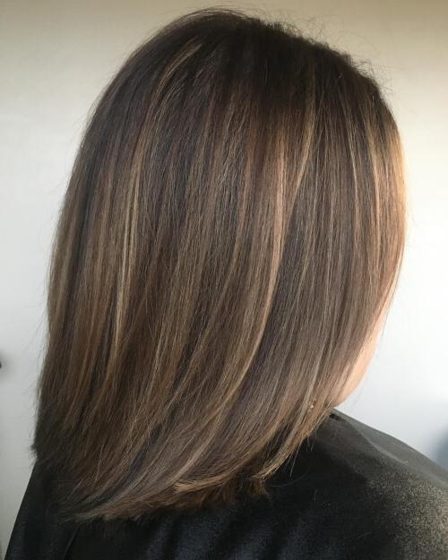 30 Cutest Long Bob Haircuts & Lob Styles Of 2019 Inside Newest Bob Haircuts With Symmetrical Swoopy Layers (View 15 of 25)