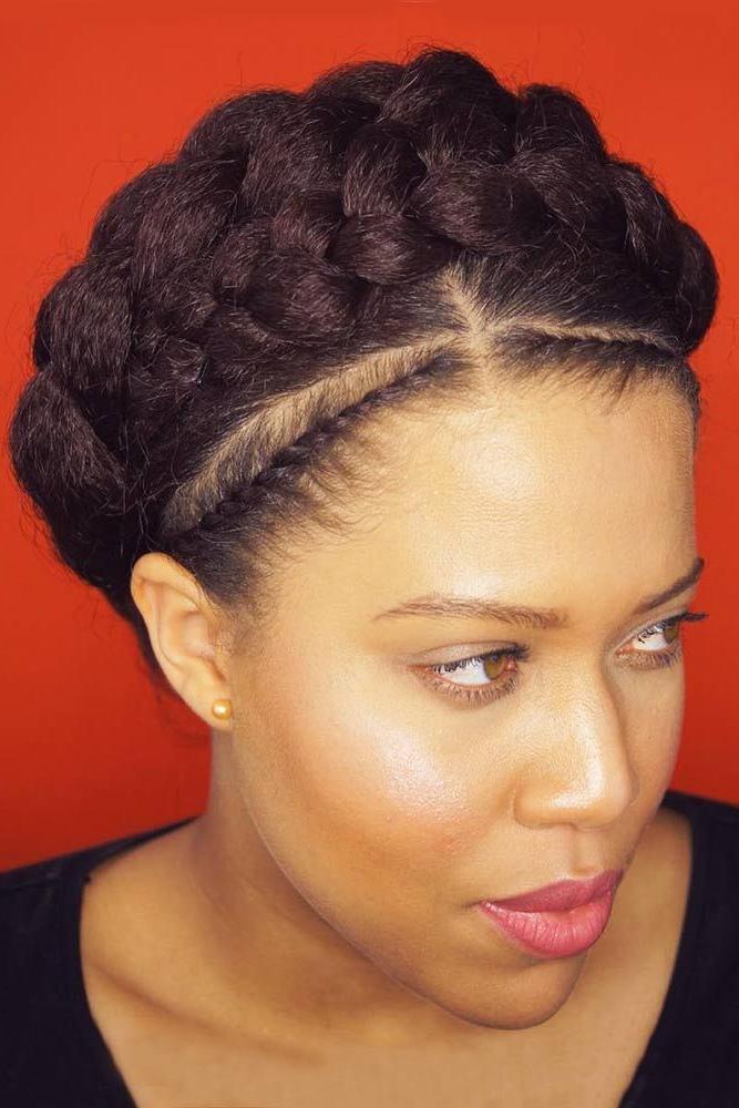 30 Goddess Braids Ideas For Ravishing Natural Hairstyles | Braids Regarding Athenian Goddess Faux Hawk Updo Hairstyles (View 22 of 25)